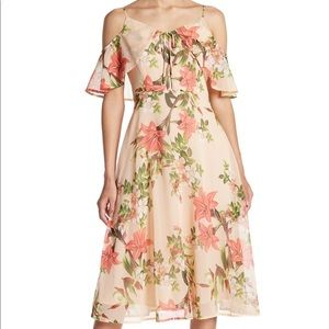 CeCe floral dress like new